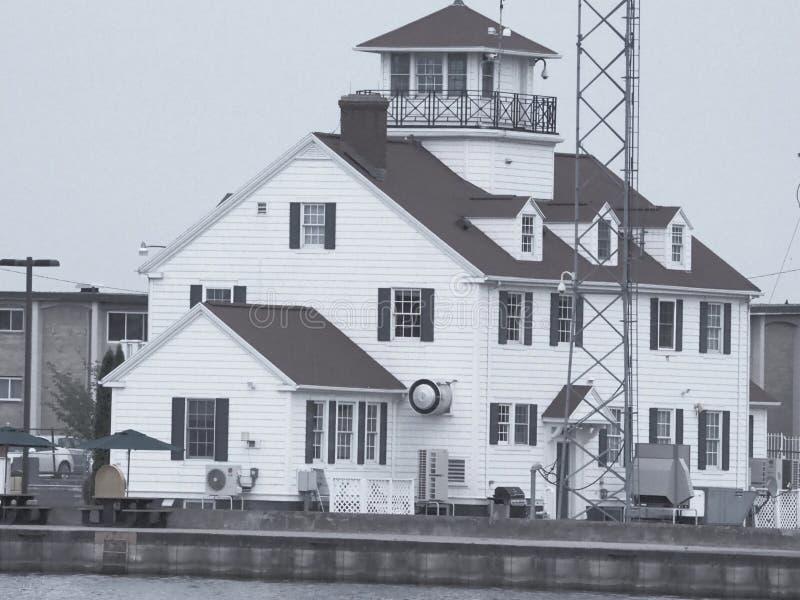 罗切斯特NY海岸警卫站 免版税库存照片