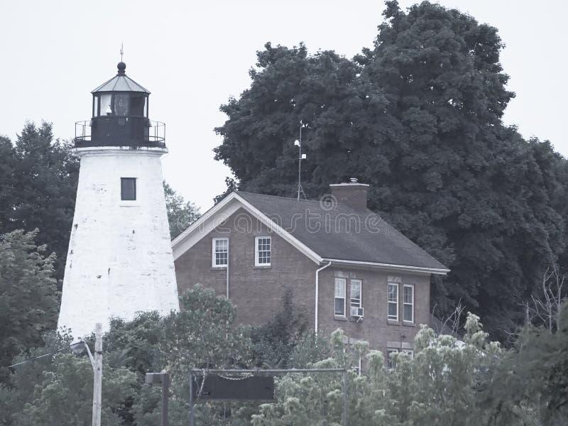 罗切斯特NY灯塔 免版税库存图片