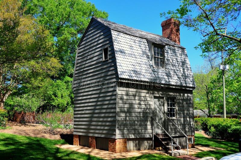 罗利, NC :安德鲁斯约翰逊总统出生地 库存照片