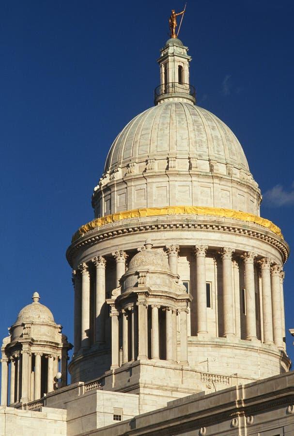 罗德岛州状态国会大厦,上帝 免版税库存照片