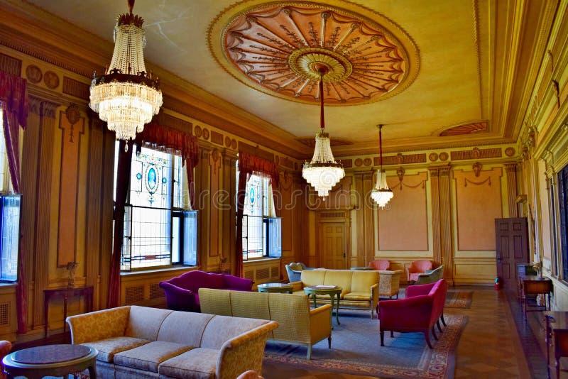 罗斯室客厅 免版税库存图片