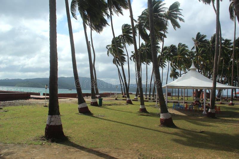 罗斯岛(安达曼) - 1 库存照片