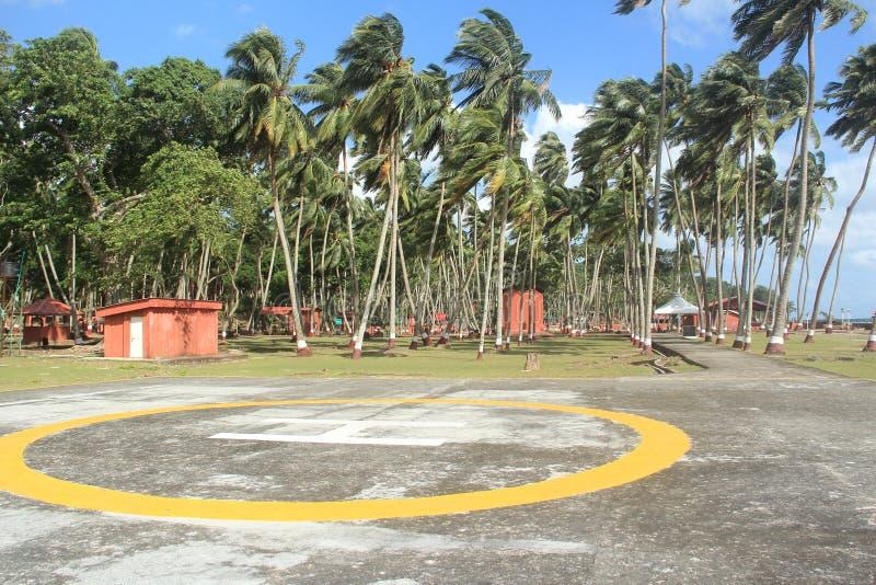 罗斯岛(安达曼) - 3 图库摄影