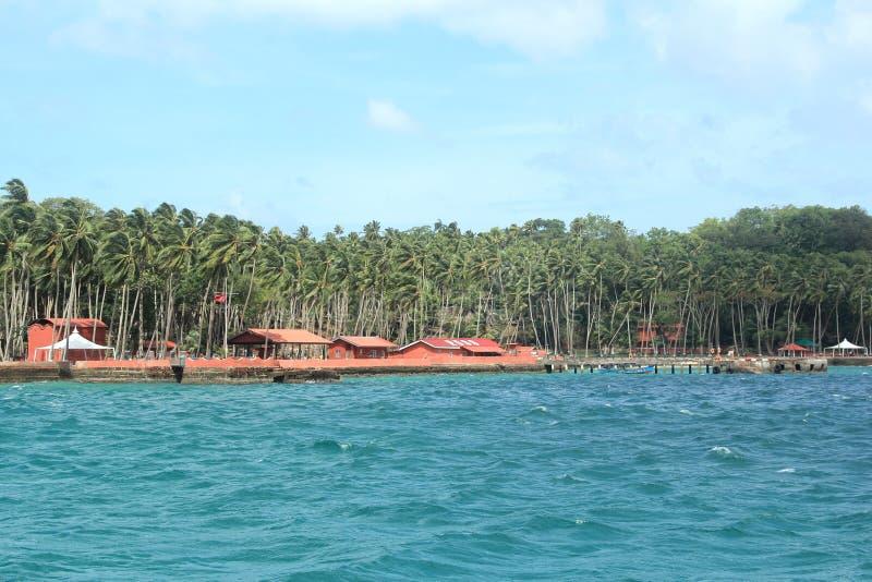 罗斯岛(安达曼) - 4 免版税库存图片
