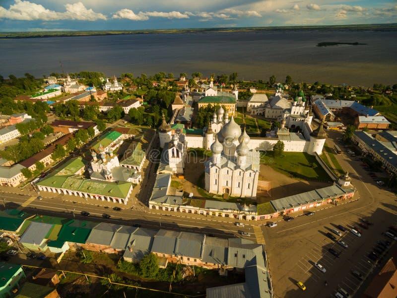 罗斯托夫伟大的克里姆林宫 免版税库存照片