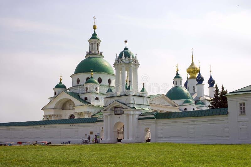 罗斯托夫罗斯托夫的德米特里伟大的救主Yakovlevsky修道院大教堂  库存照片