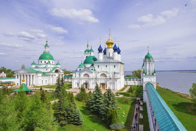 罗斯托夫,俄罗斯历史视域  图库摄影