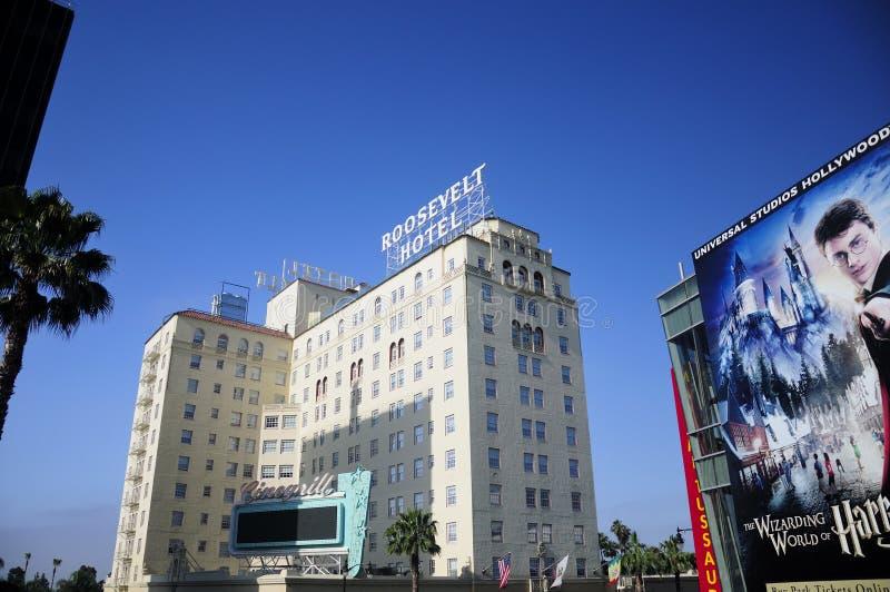 罗斯福旅馆 免版税库存照片