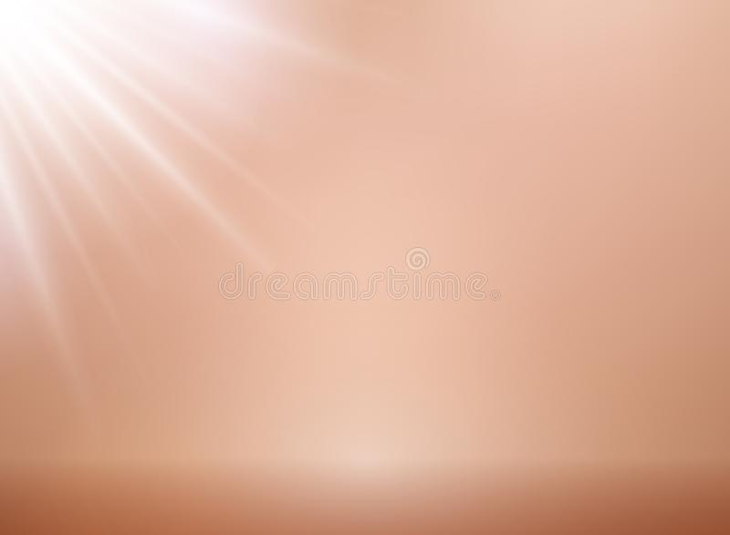罗斯金子与照明设备的传染媒介背景 金属桃红色金ba 库存例证