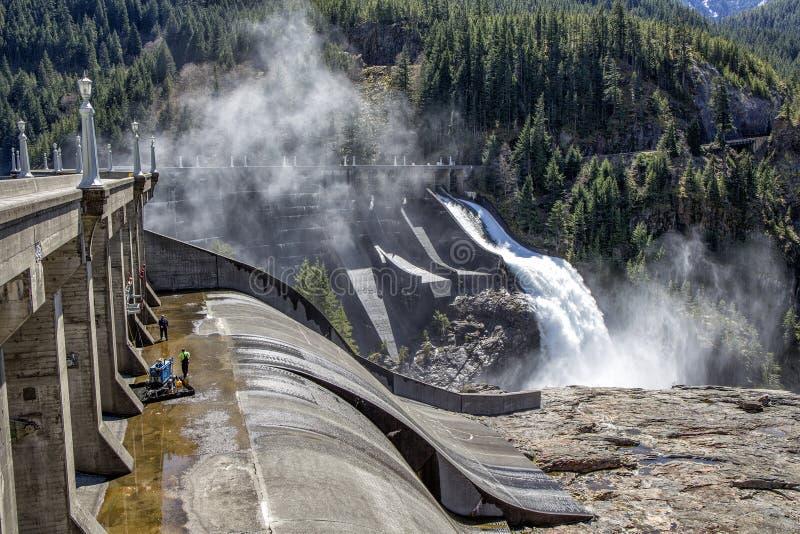 罗斯水坝 库存图片