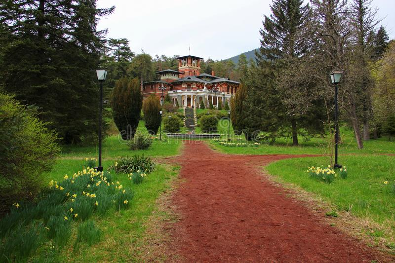 罗曼诺夫王子宫殿  库存图片