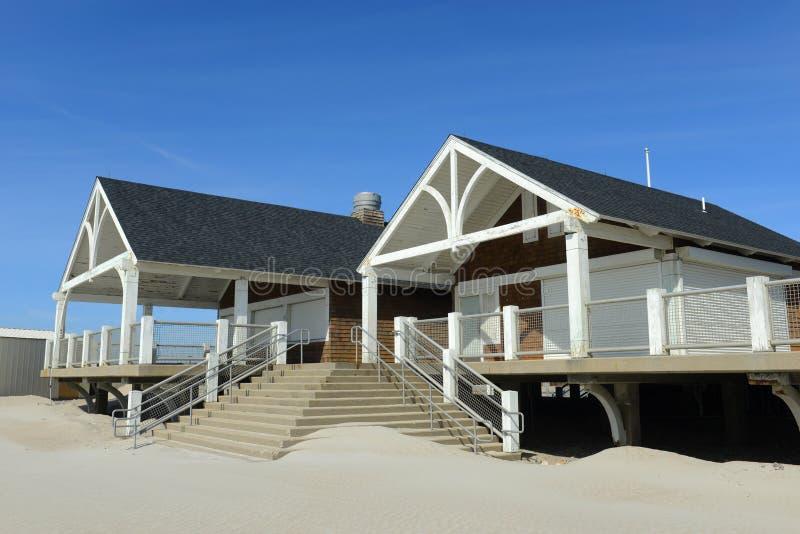 罗杰W 轮车国家海滩, Narragansett, RI 图库摄影