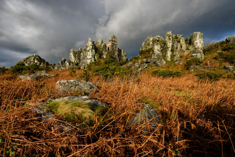 罗氏岩石 库存照片