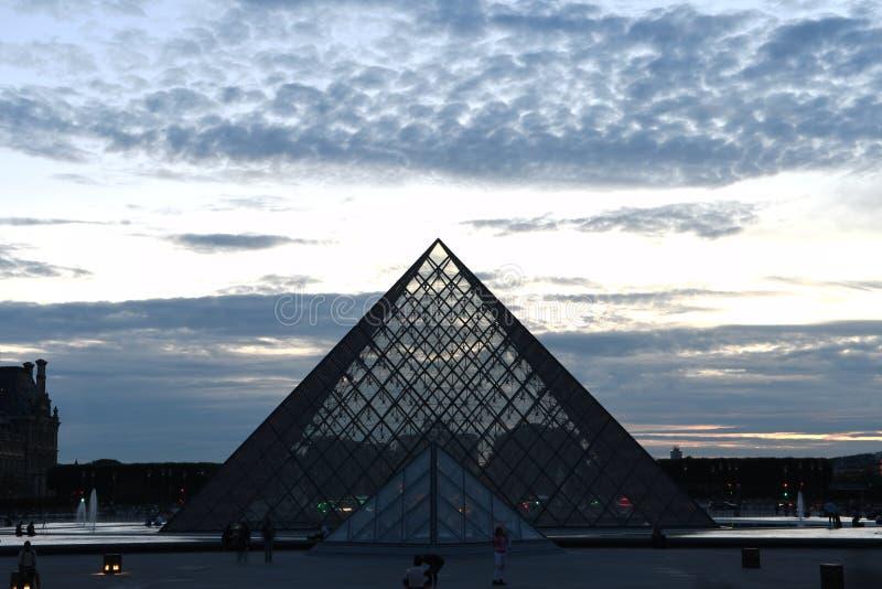 罗浮宫,巴黎,法国 库存图片