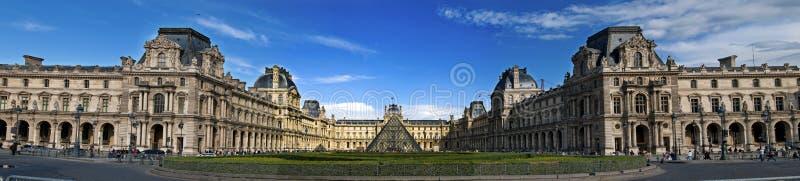 罗浮宫巴黎 库存照片