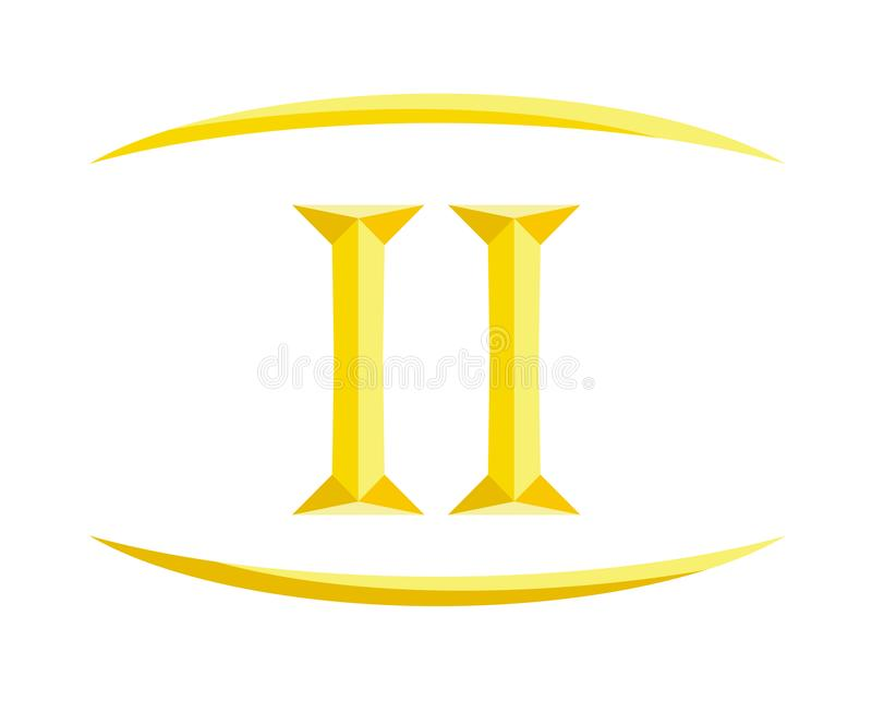 2罗马信件8 库存例证