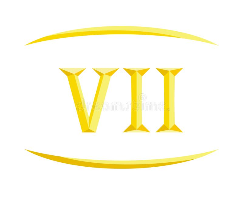 7罗马信件8 皇族释放例证