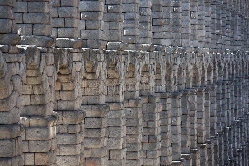 罗马古老的渡槽 库存图片