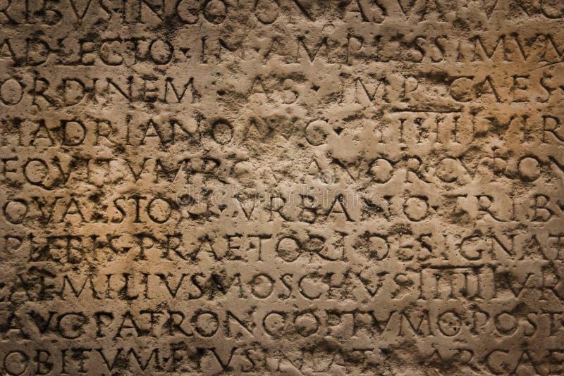 罗马古老的登记 纳莫纳 法国 图库摄影