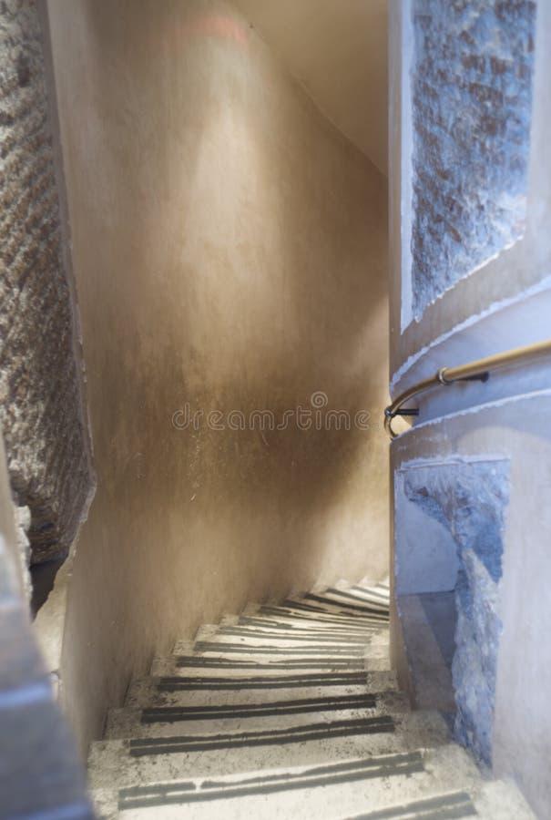 罗马台阶 免版税库存图片