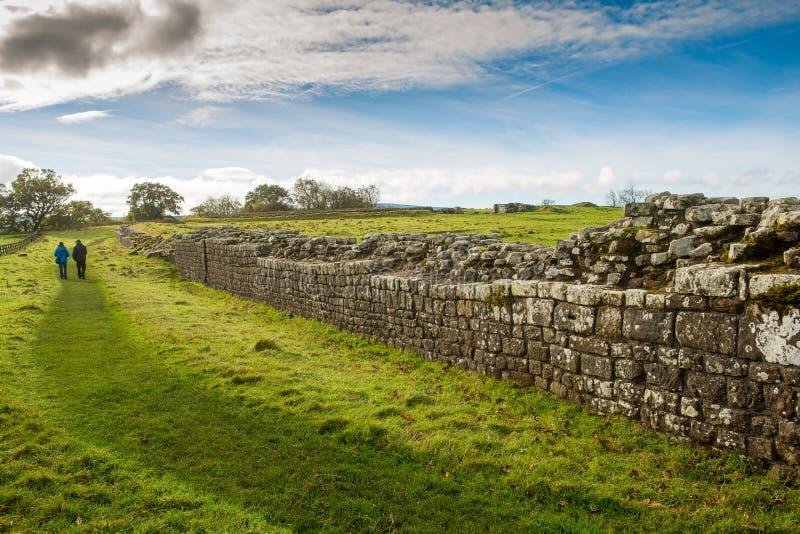 罗马墙壁 免版税库存照片
