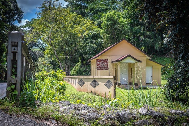 罗马天主教堂在牙买加 免版税图库摄影