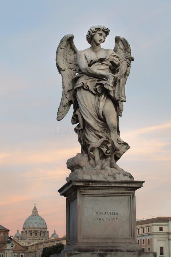 罗马天使  图库摄影