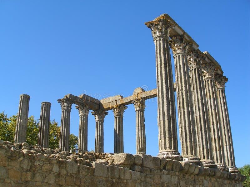 罗马寺庙 免版税库存照片