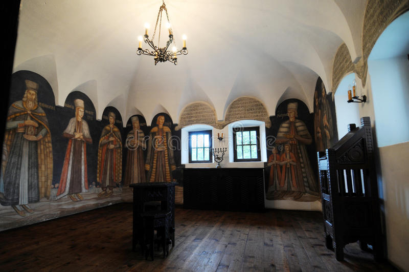 罗马尼亚别墅 库存图片