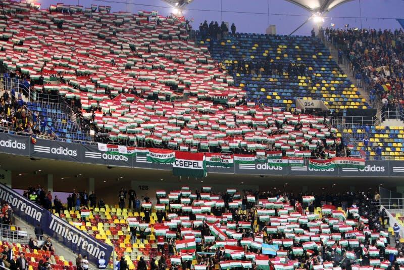 罗马尼亚对匈牙利 免版税库存照片