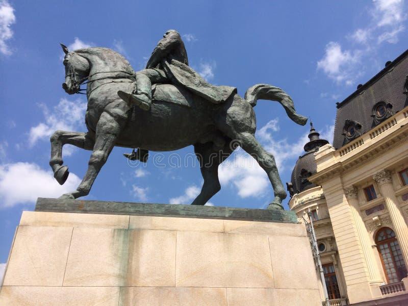 罗马尼亚市,布加勒斯特秀丽  库存照片