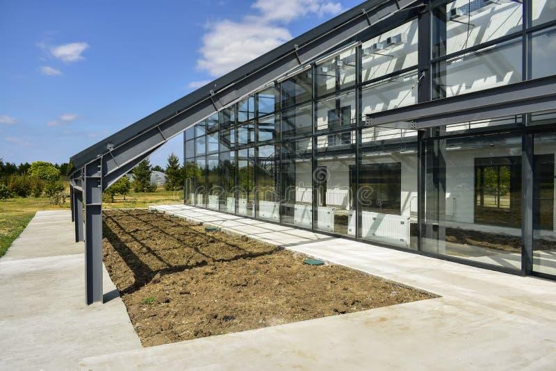 罗马尼亚普洛耶斯蒂植物园温室 免版税库存图片