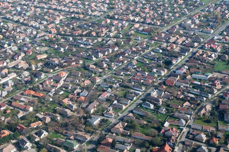 罗马尼亚村庄 图库摄影