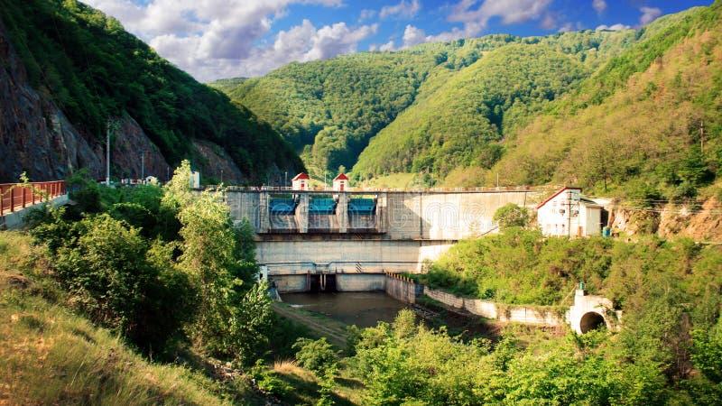 罗马尼亚水坝 免版税库存图片