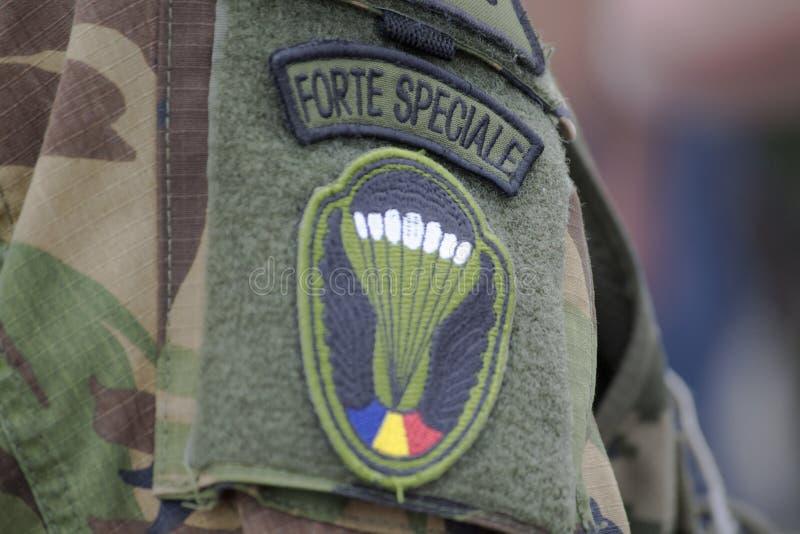 罗马尼亚特种部队 免版税库存照片