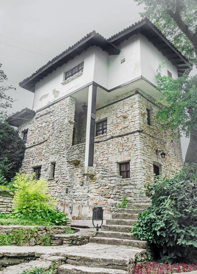 罗马尼亚王子尼古拉斯Nicolae巴尔奇克豪宅  别墅` Mavi Dalga ` 库存图片