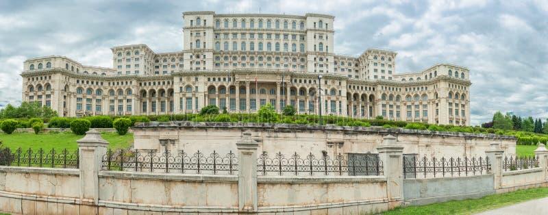 罗马尼亚议会 一最大的大厦在世界上 库存图片