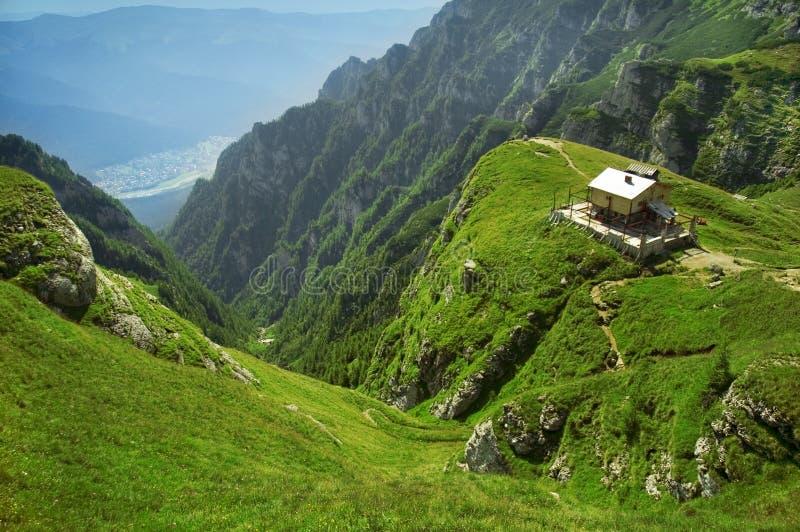 罗马尼亚语的山 免版税库存图片