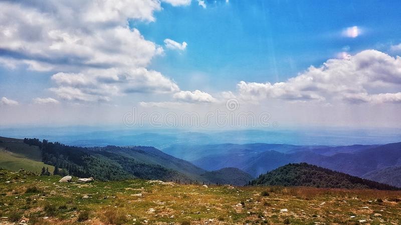 罗马尼亚语Mountins 免版税库存照片