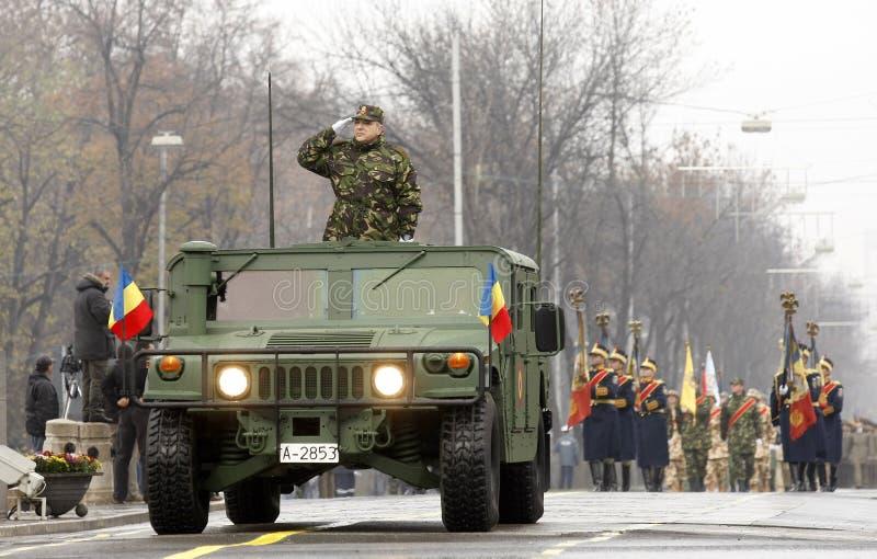 罗马尼亚陆军 免版税库存照片
