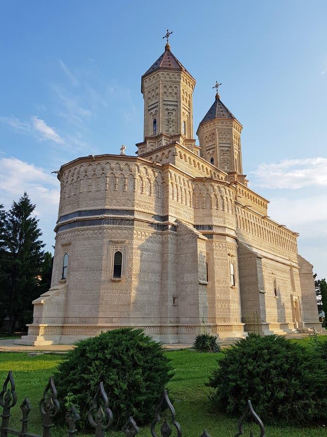 罗马尼亚雅西的三圣等级修道院 — 曼纳斯蒂雷亚·斯芬蒂·特里·耶拉希 免版税库存图片