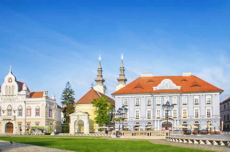罗马尼亚,蒂米什瓦拉,欧洲 免版税图库摄影
