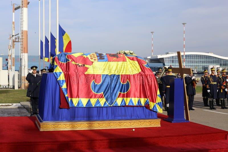 罗马尼亚` S前迈克尔I DIES AT国王年龄的96 免版税库存图片