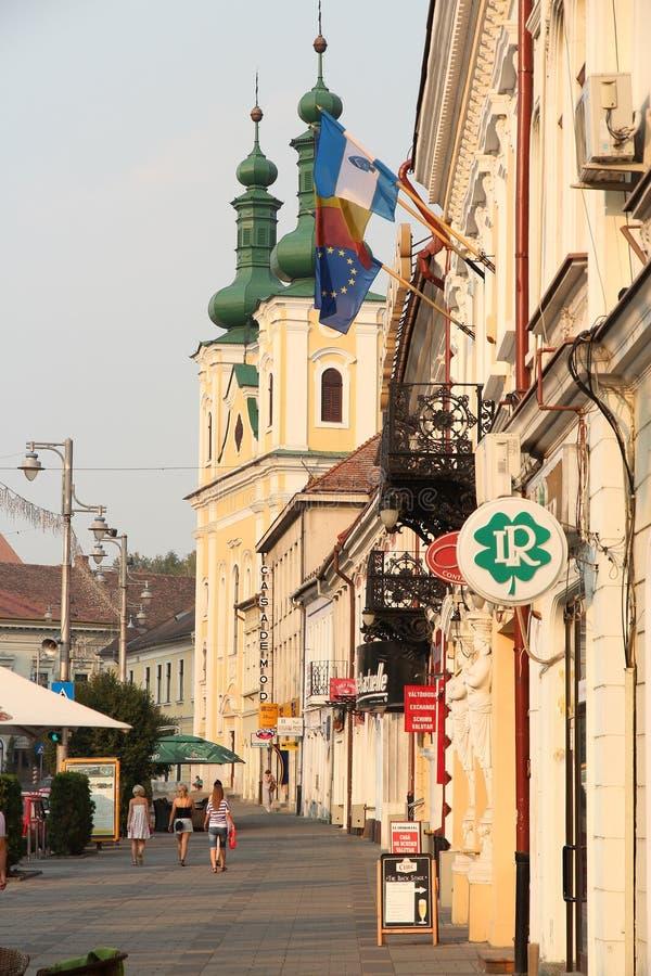 罗马尼亚- Targu Mures 库存图片