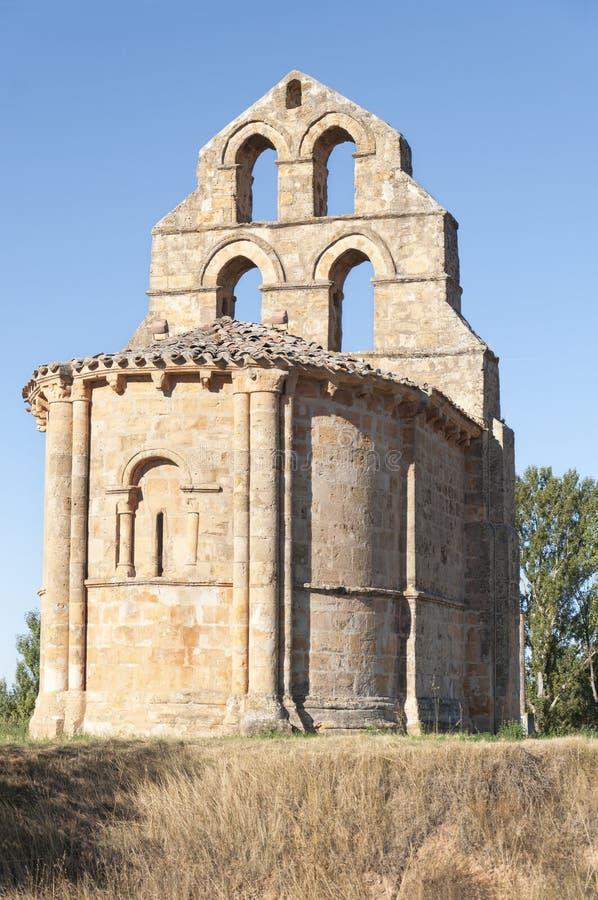 罗马式教堂 库存照片