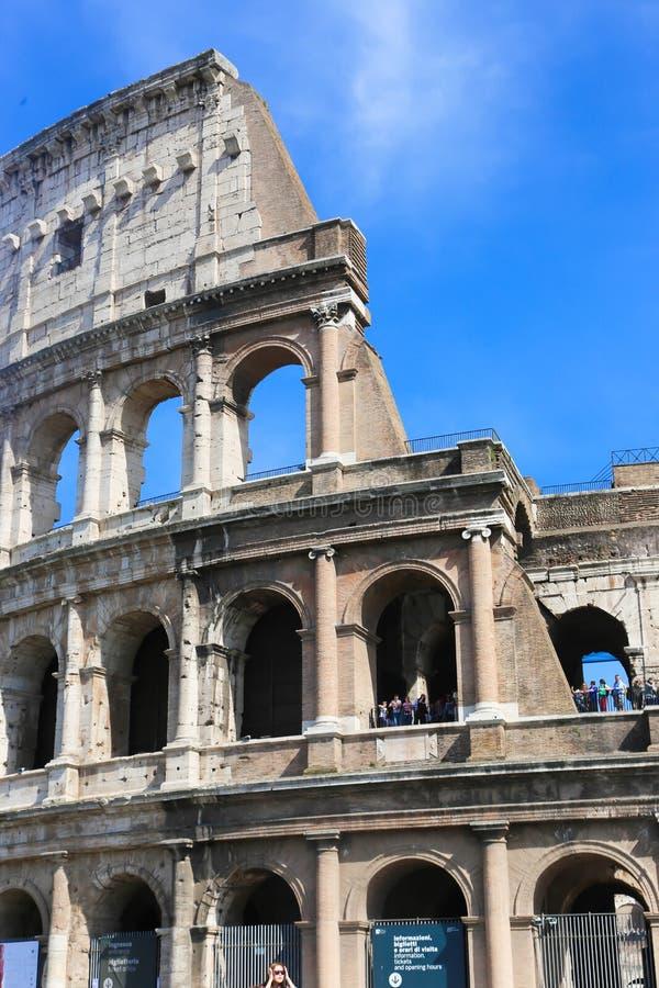 罗马斗兽场罗马,意大利 库存照片