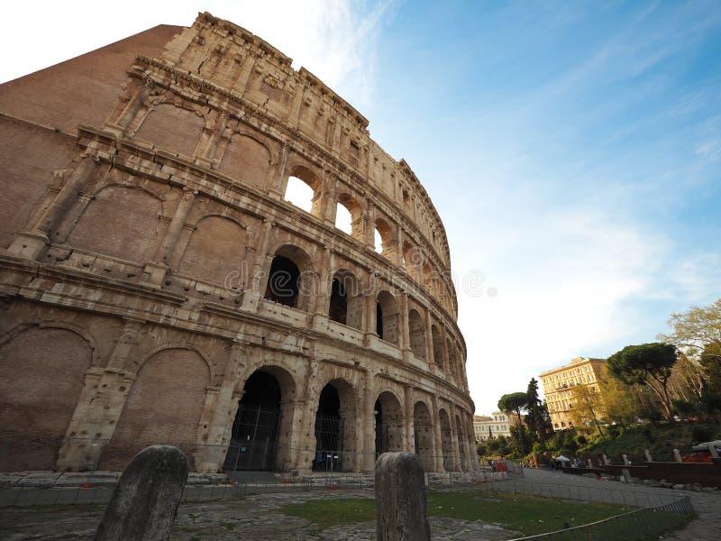 罗马斗兽场,意大利的世界遗产名录有罗马的伟大的 库存照片