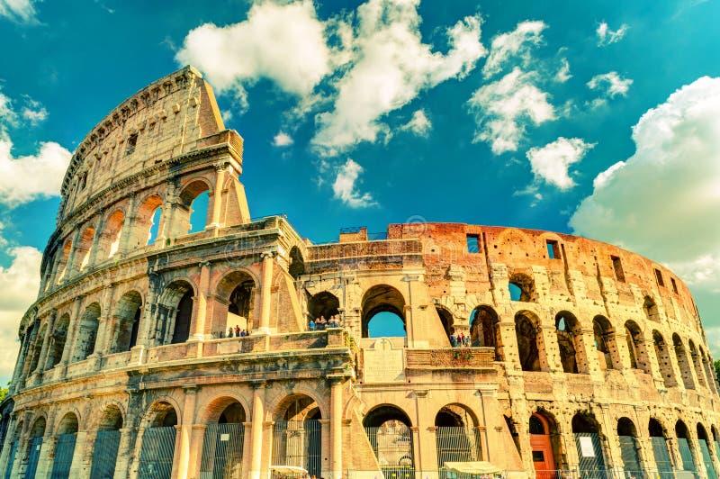 罗马斗兽场(大剧场)在罗马 库存图片