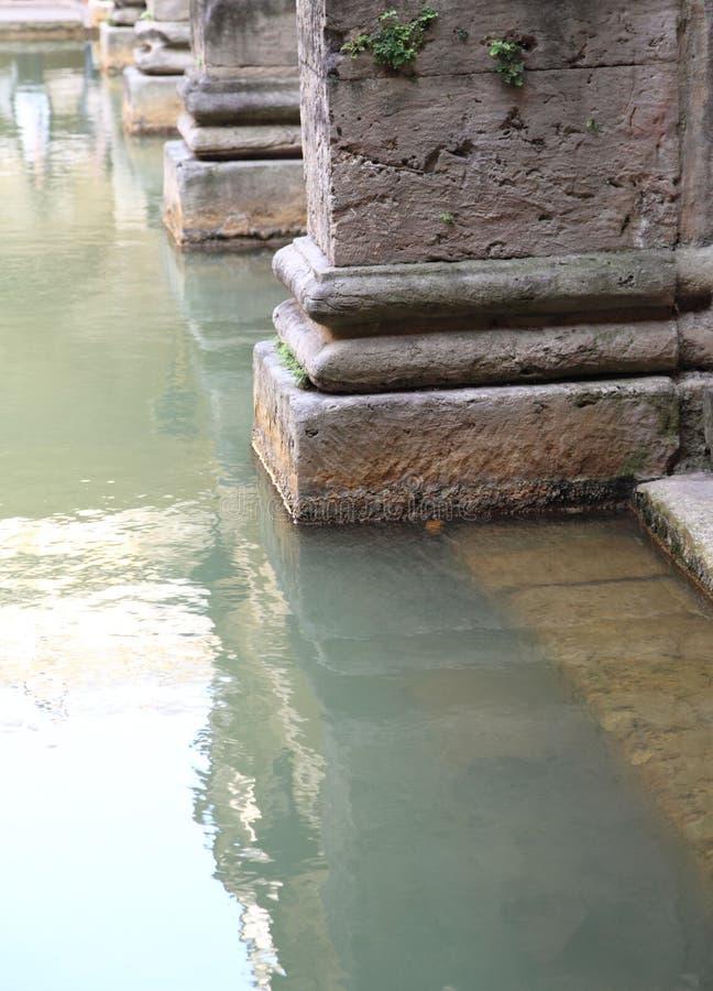 罗马浴的浴 库存照片