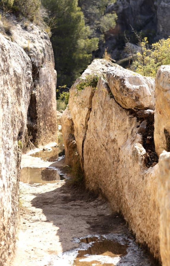 罗马渡槽在切尔瓦 图库摄影